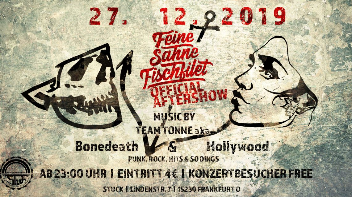 Feine Sahne Fischfilet Offical Aftershow