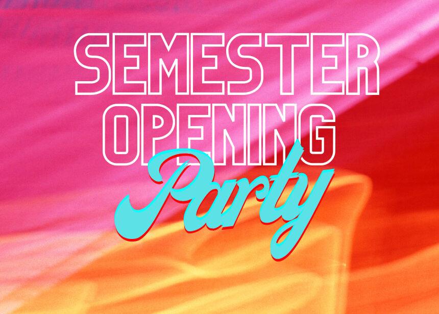 Semester Opening Party vom AStA